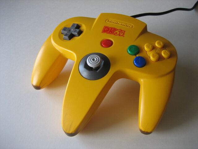 File:Donkey Kong 64 Controller.jpg