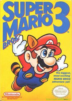 Super Mario Bros 3 boxfront