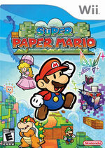 Super Paper Mario NAcover