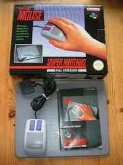 SNES Mouse And Box