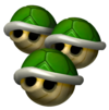Triple Green Shell