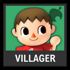 Super Smash Bros. Strife character box - Villager