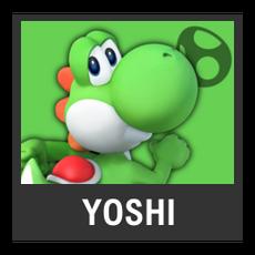 Super Smash Bros. Strife character box - Yoshi