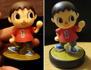 Villager amiibo comparison