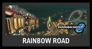Super Smash Bros. Strife stage box - Rainbow Road