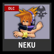 Super Smash Bros. Strife character box - Neku