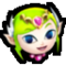 SSBStrife head icon - Toon Zelda 0