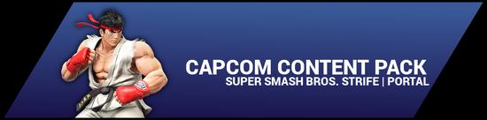 Super Smash Bros. Strife portal image - Capcom DLC