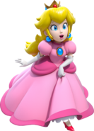 Peach Artwork - Super Mario 3D World