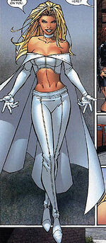 Emma Frost in current costume