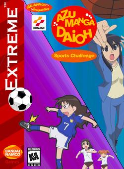 Azumanga Daioh Sports Challenge Box Art