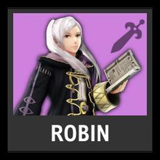 Super Smash Bros. Strife character box - Robin