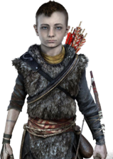 God of War 2017 kid