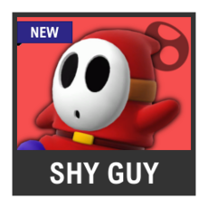 Super Smash Bros. Strife character box - Shy Guy