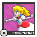 ACL Mario Kart 9 character box - Fire Peach