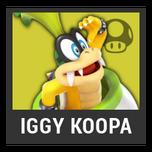 Super Smash Bros. Strife character box - Iggy Koopa