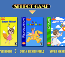 Super Hikari All-Stars Game Select Screen 2