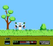 Chiyo Chan's Duck Hunt Gameplay