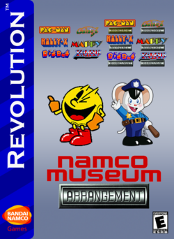 Namco Museum Arrangement Box Art 2