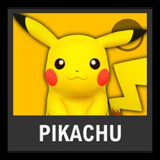 Super Smash Bros. Strife character box - Pikachu