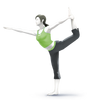 Super Smash Bros. Strife recolour - Wii Fit Trainer 4