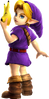 Super Smash Bros. Strife recolour - Young Link 3