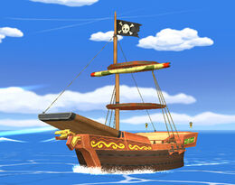 SSBB Pirate Ship