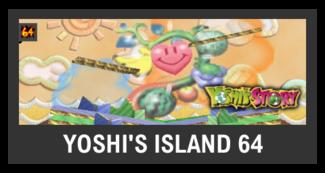 Super Smash Bros. Strife stage box - Yoshi's Island 64