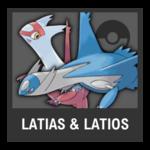 Super Smash Bros. Strife Pokémon box - Latias and Latios