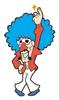 Brawl Sticker Jimmy T. (WarioWare MPG)