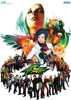The King of Fighters XI Remake promotional poster