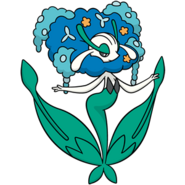 671Florges Blue Flower Dream