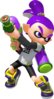 Super Smash Bros. Strife recolour - Inkling 8