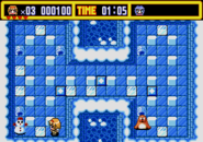 Ayu in Ice World Gameplay