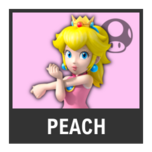 Super Smash Bros. Strife character box - Peach Sports