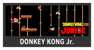 Super Smash Bros. Strife stage box - Donkey Kong Jr.