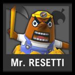 Super Smash Bros. Strife Assist box - Mr. Resetti