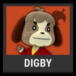 Super Smash Bros. Strife character box - Digby