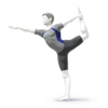 Super Smash Bros. Strife recolour - Wii Fit Trainer 14