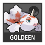 Super Smash Bros. Strife Pokémon box - Goldeen