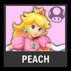 Super Smash Bros. Strife character box - Peach