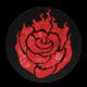 Rose Art - Fire