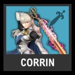 Super Smash Bros. Strife character box - Corrin F