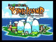 GBA Yoshis Island 1