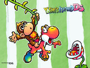 Yoshis Island DS Wallpaper 5