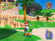 Yoshi Mario Sunshine