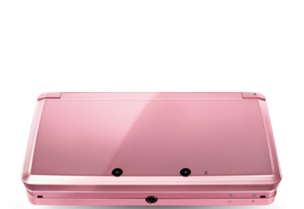 Closed Pearl Pink Nintendo 3DS