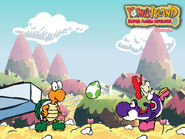 Yoshis island GBA Poster 5