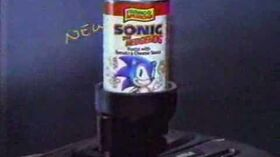Sonic the Hedgehog Pasta USA Commercial