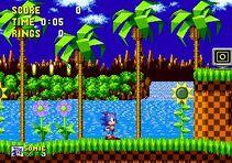 Green Hill Zone Sonic 1